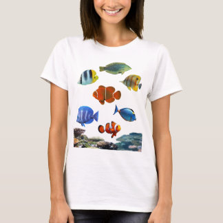 Tropical Reef With Fish T-Shirt
