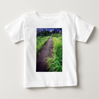 Tropical road to nowhere on paradise island baby T-Shirt