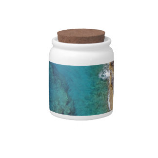 Tropical Rugged Coral Reef Candy Jars