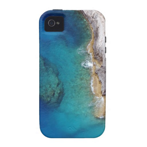 Tropical Rugged Coral Reef Case For The iPhone 4