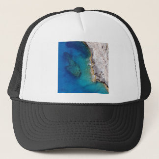 Tropical Rugged Coral Reef Trucker Hat