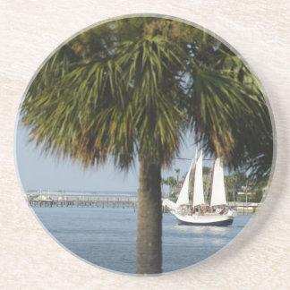 Tropical Sail Coasters