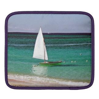 Tropical sail iPad sleeves