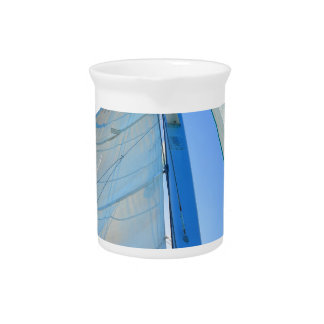 Tropical Sailboat Drink Pitcher
