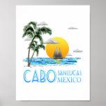Tropical Sailing Cabo San Lucas Mexico Poster