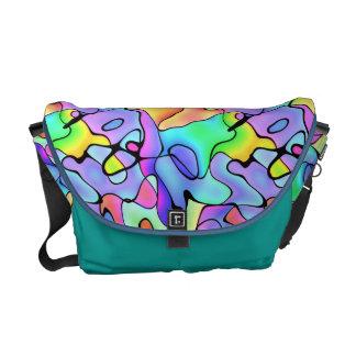 Tropical salpica bolsa de mensajeria