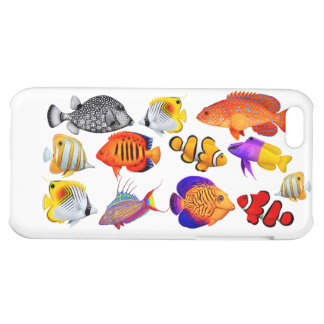 Tropical Saltwater Reef Fish iPhone Case iPhone 5C Case