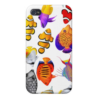 Tropical Saltwater Reef Fish Speck Case iPhone 4/4S Covers