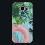 "Tropical Samsung S6 Cellphone Case<br><div class=""desc"">More of my daughter&#39;s artwork.