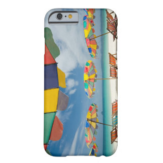 Tropical sand beach and turquoise sea. 2 barely there iPhone 6 case