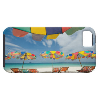 Tropical sand beach and turquoise sea. 2 iPhone 5 covers