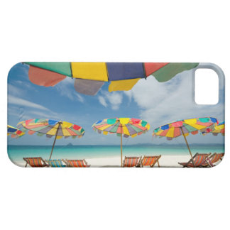 Tropical sand beach and turquoise sea. 2 iPhone SE/5/5s case