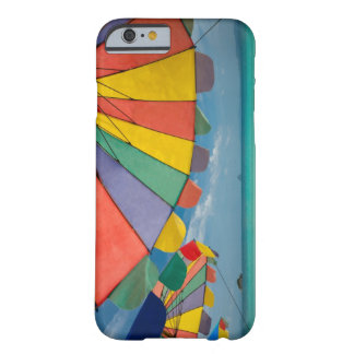 Tropical sand beach and turquoise sea. barely there iPhone 6 case