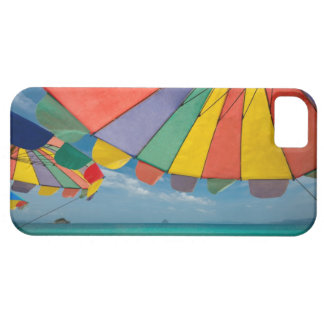 Tropical sand beach and turquoise sea. iPhone SE/5/5s case