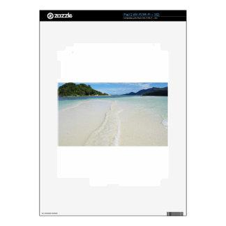 tropical sandbank skin for the iPad 2