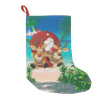 tropical santa's wild ride stocking