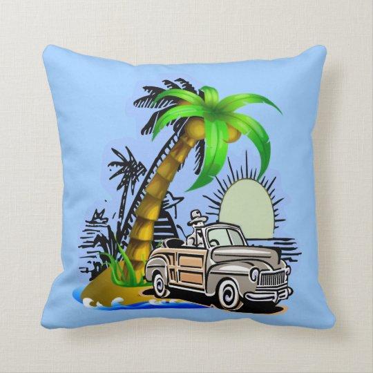 Tropical scene American MoJo Pillow