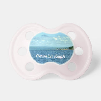 Tropical Scene Custom Pacifier