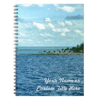 Tropical Scene Notebook