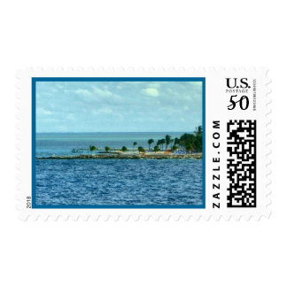 Tropical Scene Postage