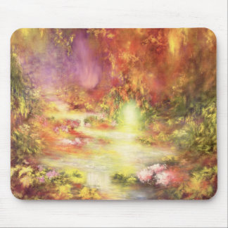 Tropical Scenery 1990 Mouse Pad