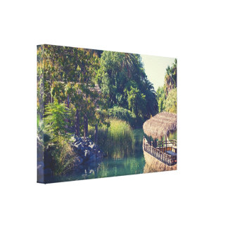 Tropical Scenery Canvas Print