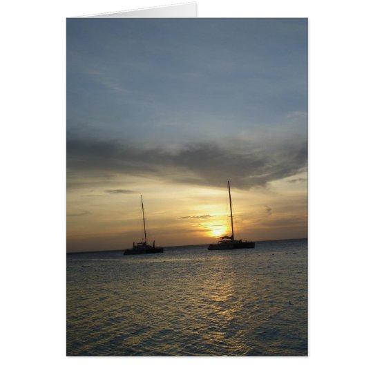 Tropical Scenes Card