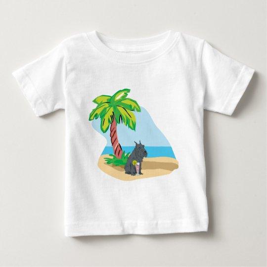 tropical schnauzer baby T-Shirt
