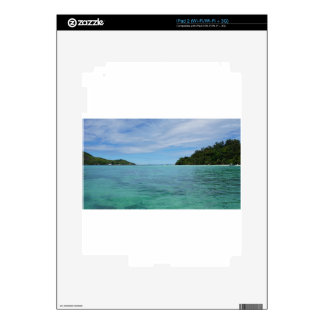 tropical sea decals for the iPad 2