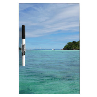 tropical sea Dry-Erase board