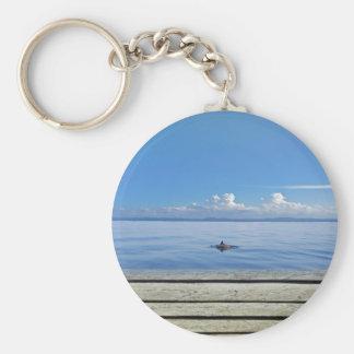 tropical sea keychains