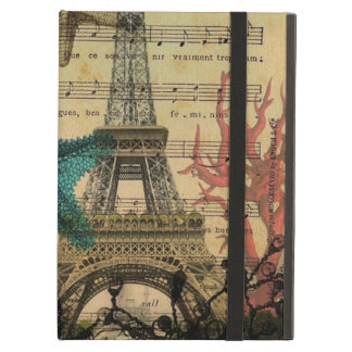 tropical seahorse seashells paris eiffel tower cover for iPad air