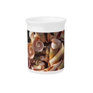Tropical Seashells Beverage Pitchers
