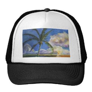 Tropical Seaside Sunset Trucker Hat