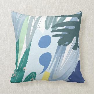 Tropical Semicolon Pillow
