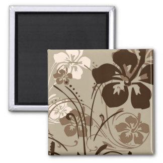 Tropical Serenade (Brown) Magnet