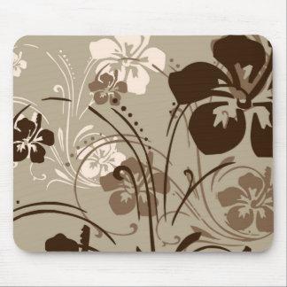 Tropical Serenade (Brown) Mousepad