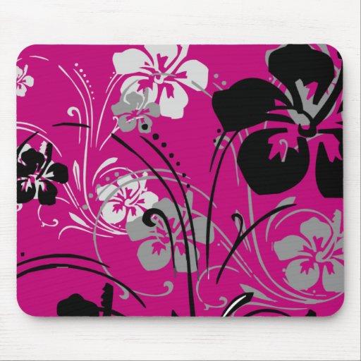 Tropical Serenade (Pink) Mousepad