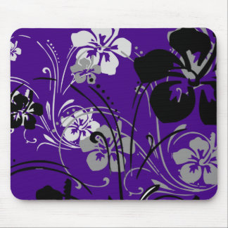 Tropical Serenade (Purple) Mousepad