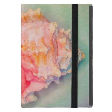 Beach Themed Tropical Shell iPad Mini Cover