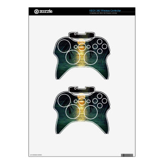 Tropical Sky Xbox 360 Controller Skins