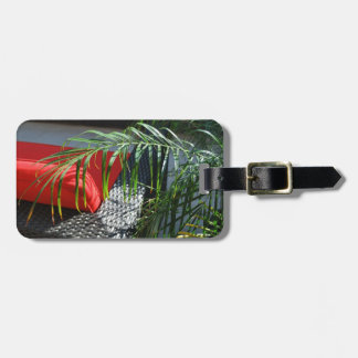 Tropical Spa Seating, Calm Zen Relax Luggage Tag