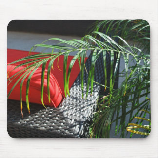 Tropical Spa Seating, Calm Zen Relax Mouse Pad