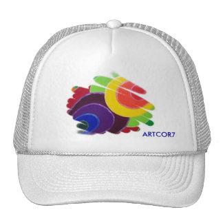 Tropical Spirals Cap Hat