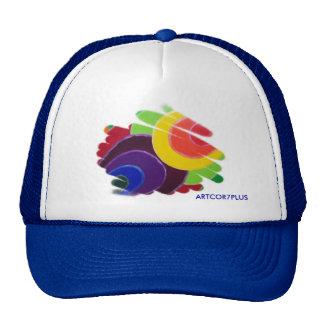 Tropical Spirals Truck Hat