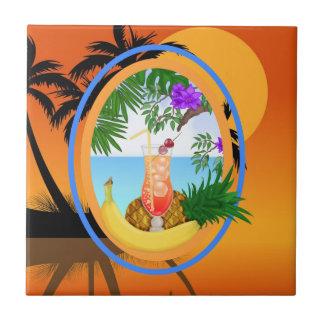 Tropical - SRF Azulejo Cuadrado Pequeño