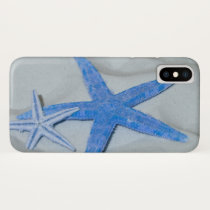 Tropical Starfish On A White Sandy Beach iPhone X Case
