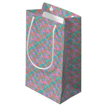 Tropical Starfish Pattern Small Gift Bag