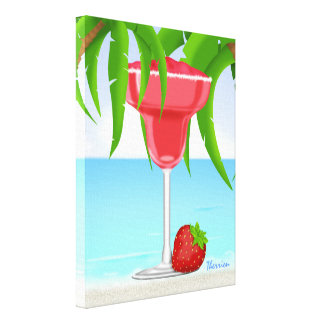 Tropical State of Mind 4 - Canvas Print - SRF