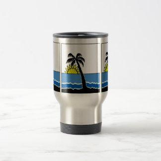 Tropical Steel Pan travelling mug
